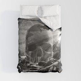 XIII. Death & Rebirth Tarot Card Illustration (Alternative Version) Comforters