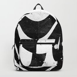 Experimantal typography Backpack