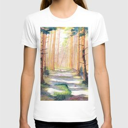 Down The Forest Path T-shirt