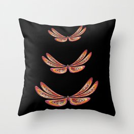 Butterflowers Throw Pillow