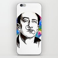 dali iPhone & iPod Skins featuring Dali by Clementine Petrova
