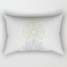 Chakra Mandala Rectangular Pillow