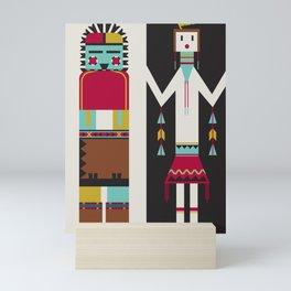 Kachina Dolls Mini Art Print