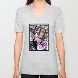 Goddess Doodle No. 2 Unisex V-Neck