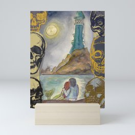 Mermaid Island Mini Art Print