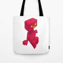 Red Robot Tote Bag