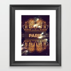 Paris II Framed Art Print