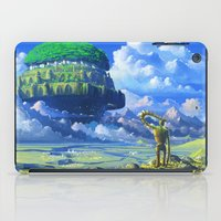 castle in the sky iPad Cases featuring Castle in the sky by Roberto Nieto