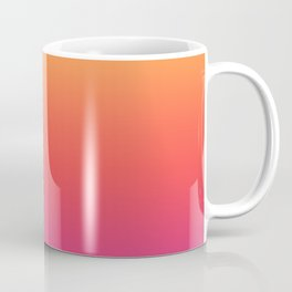 Ombre Colorful Summer Gradient Pattern Coffee Mug