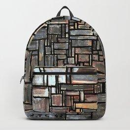 Constructive art - Joaquin Torres Garcia Backpack