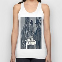 poker Tank Tops featuring Poker Game by Kasey Jane