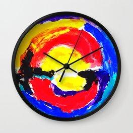 Colourful Dot Wall Clock