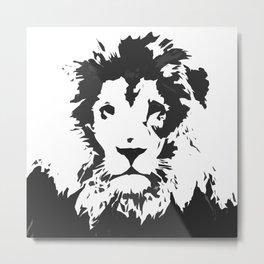 King of the Savanna Metal Print