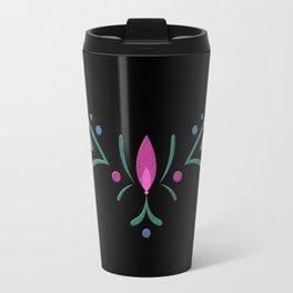 Anna Coronation Embroidery Travel Mug