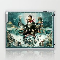 Nikola Tesla Master of Lightning Laptop & iPad Skin