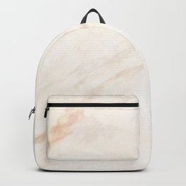 Faux Marble Design Backpack