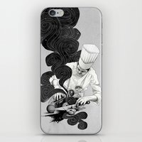 chef iPhone & iPod Skins featuring Galactic Chef by Kyle Cobban