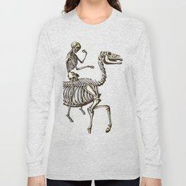 Horse Skeleton & Rider Long Sleeve T-shirt