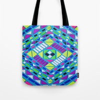 native Tote Bags featuring Native by Erin Jordan