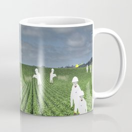 Green Rows Coffee Mug