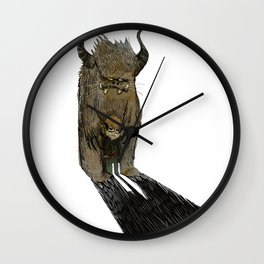"""mi montro"" Wall Clock"
