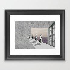 Fenêtre Framed Art Print