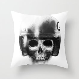 death racer Throw Pillow