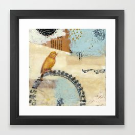 Answering for Discarded Youth  Framed Art Print