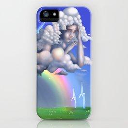 The rainbow godess iPhone Case