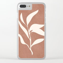 Little Leaves I Clear iPhone Case