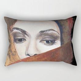 Lady #1 Rectangular Pillow
