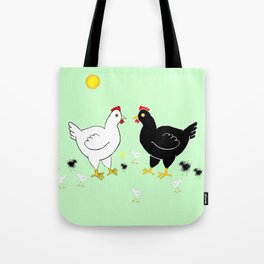Family Hen Tote Bag