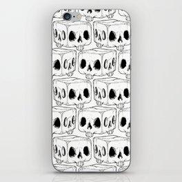 Infinite Square Skulls  iPhone Skin