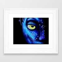 avatar Framed Art Prints featuring Avatar  by itweet