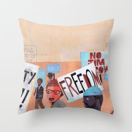 EQUALITY NOW Throw Pillow