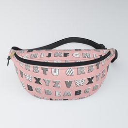 ABC Pink Fanny Pack