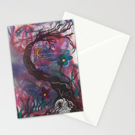 Cool Nights Stationery Cards