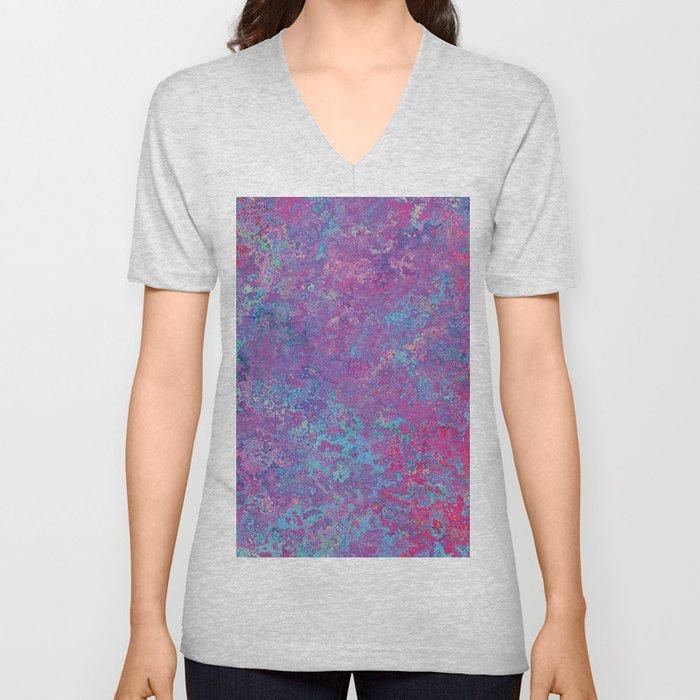 Acid Wash Unisex V-Neck