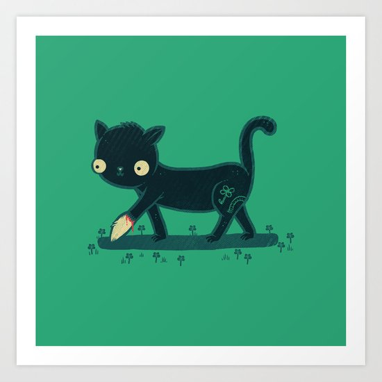 Make Your Own Luck Art Print