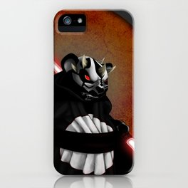 The Panda Menace iPhone Case