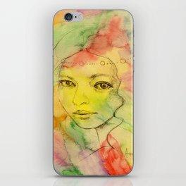 Rainbow romance iPhone Skin