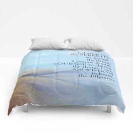 Serenity Prayer Golden Hills Comforters