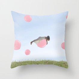 Up & Away . Throw Pillow