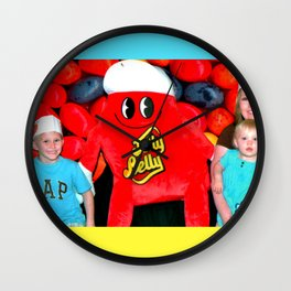 Jelly Belly Family Photo Wall Clock