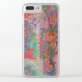 Tracy Porter / Poetic Wanderlust: Good Vibes Only Clear iPhone Case