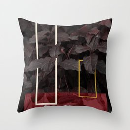 Burgundy Fall #society6 #decor #buyart Throw Pillow
