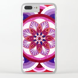 Summer Wine and Cherry Pie Clear iPhone Case
