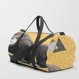 Endangered Rainforest Mountain Gorilla Duffle Bag