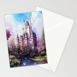 FAIRY FANTASY CASTLE Stationery Cards