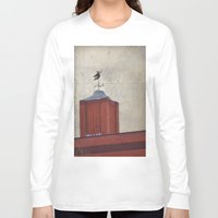 witch Long Sleeve T-shirts featuring Witch by Elina Cate